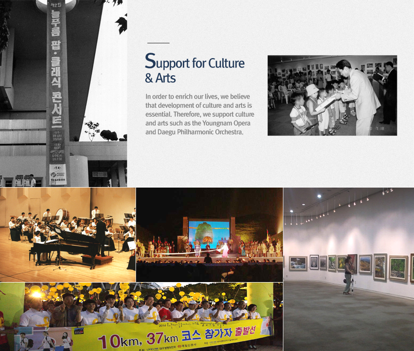 Support for Culture & Arts